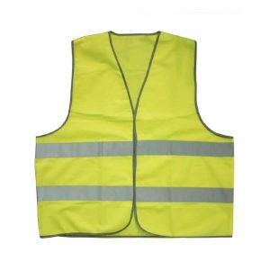 Colete alta visibilidade amarelo
