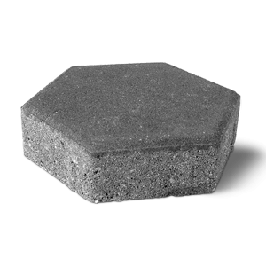 pave hexagonal